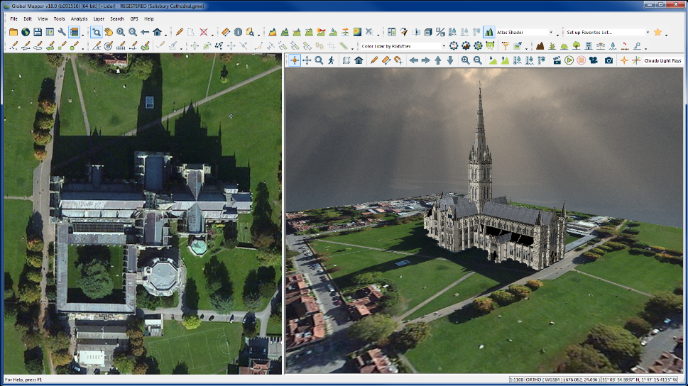 3D objects in Global Mapper