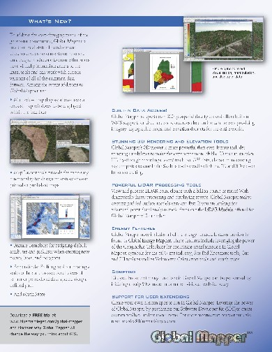 Global Mapper Flyer page 2
